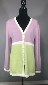 Pastel John Lilla Colorblock Kvinder Up Collection Button Jacket L Grøn St wOCBtqw