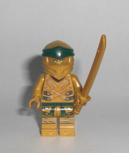 LEGO Ninjago Legacy Figur Minifig Drache Golden 70666 Goldener Ninja Lloyd