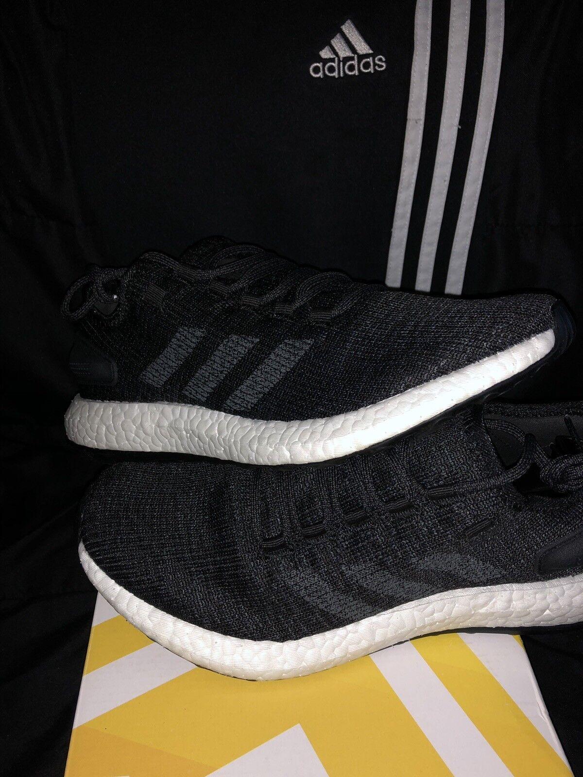 New Adidas PureBoost Men's Running Training shoes Mens Size 8 BA8899