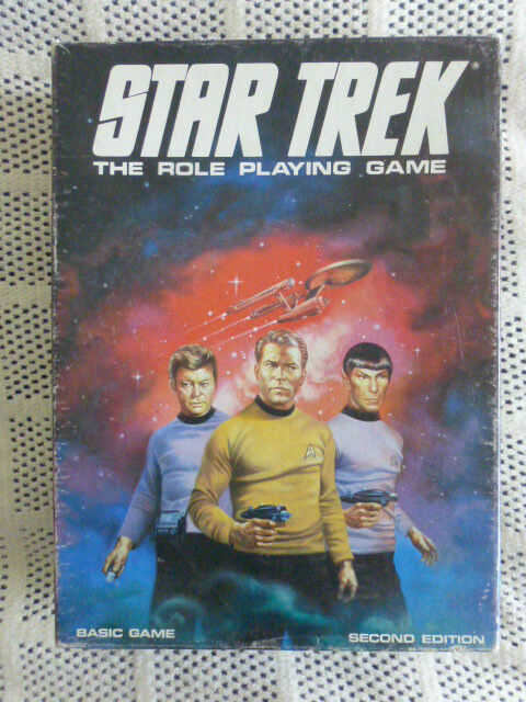 Star Trek The Role Playing Game by Games Workshop