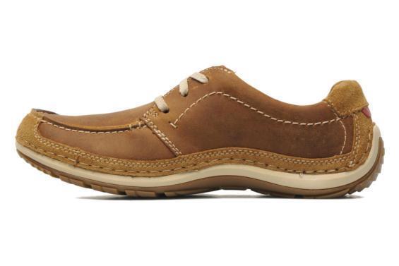 Clarks Mens **  SHIPLY WALK ** tan Lea  G **  UK 9.5 G  20f25e