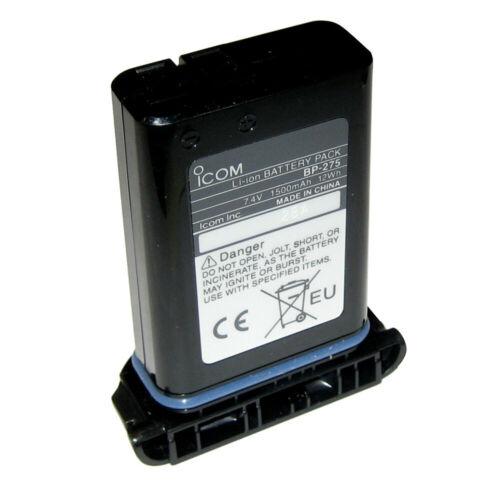 Icom BP275 Li-Ion Battery for M92D 1500mAh 8 hours of operating time 7.4V