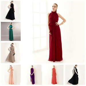 b1315ec24f4a1 Image is loading Long-Formal-Evening-Maternity-Dress-Chiffon-Pageant-Prom-