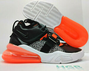 newest 8453d 063b1 Nike Air Max Force 270 Mens Safari Running Crimson Black ...