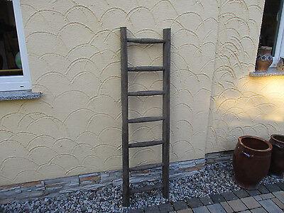 115 Alte Holzleiter Deco Blumenampel Baumleiter Handtuchhalter Kleiderhalter Ein BrüLlender Handel