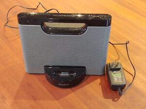 Details about Sony Portable RDP-M5iP Compact Speaker Dock Remote for iPod  iPhone