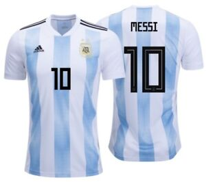 3e43882ab Image is loading ADIDAS-LIONEL-MESSI-ARGENTINA-HOME-JERSEY-WORLD-CUP-