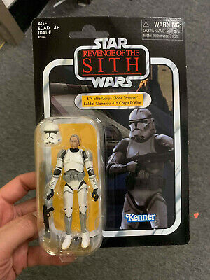 41st ELITE CORPS CLONE TROOPER Star Wars Vintage Collection VC145 Revenge o Sith