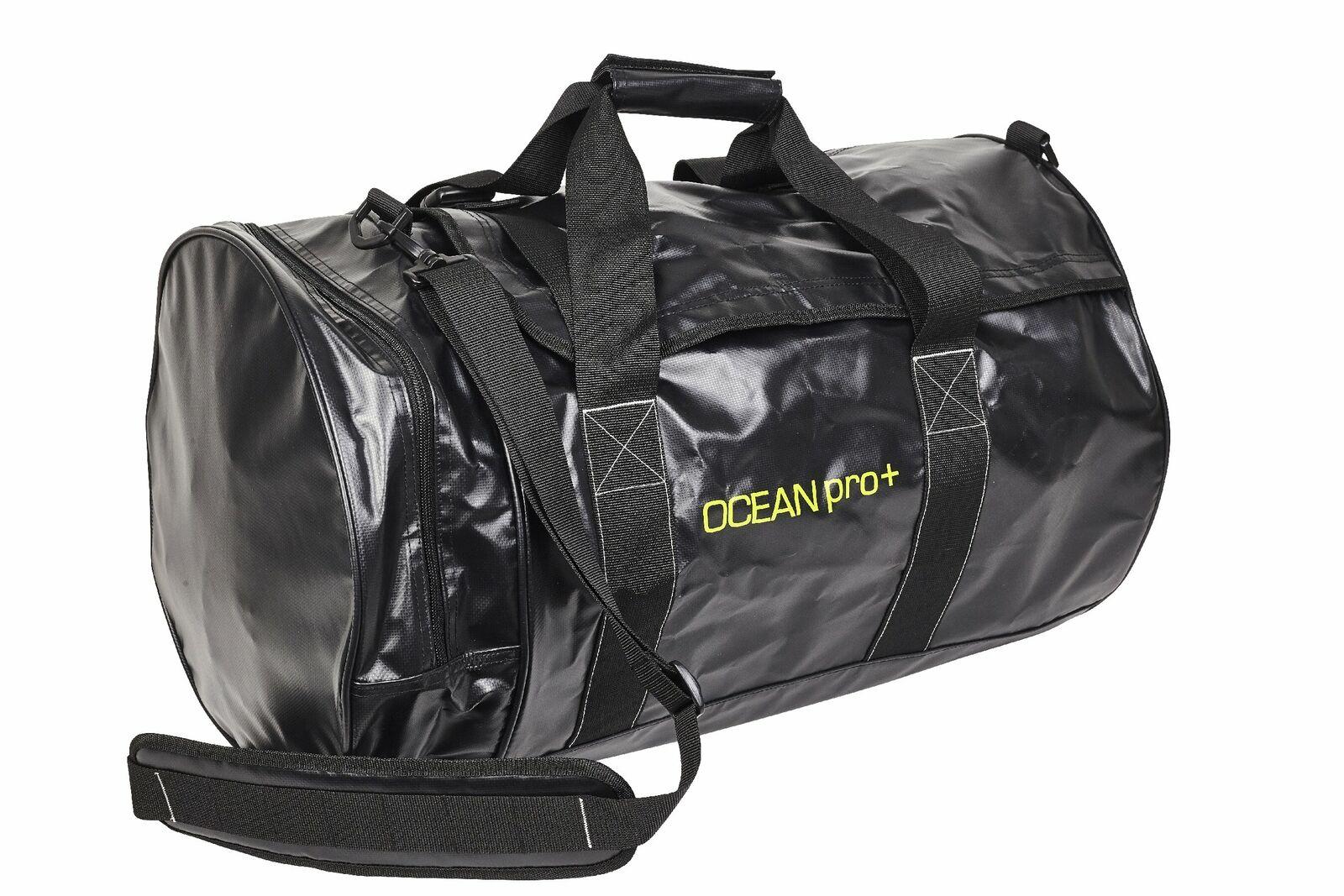 Wasserdichte Tasche OCEAN PRO+ Roundbag 60 Liter Sporttasche   rund   black