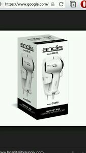 Andis Hd 7l Hair Dryer Wall Mounted White 1600 Watts