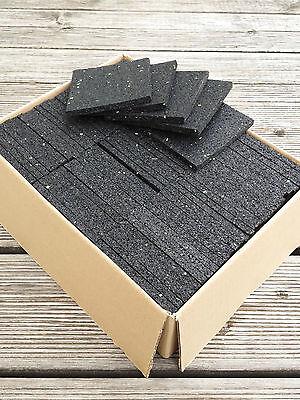 25,00€//m² Terrassenbau Pad Stelzlager Terrassenpads 100x100x3 mm 50 St