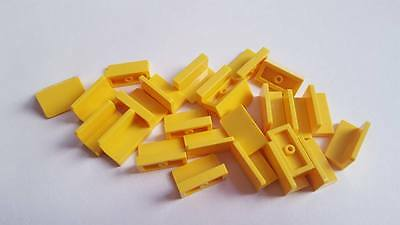 Qty:25 New Part 85984 Lego Yellow Slope 30 1x2 Element 4550348