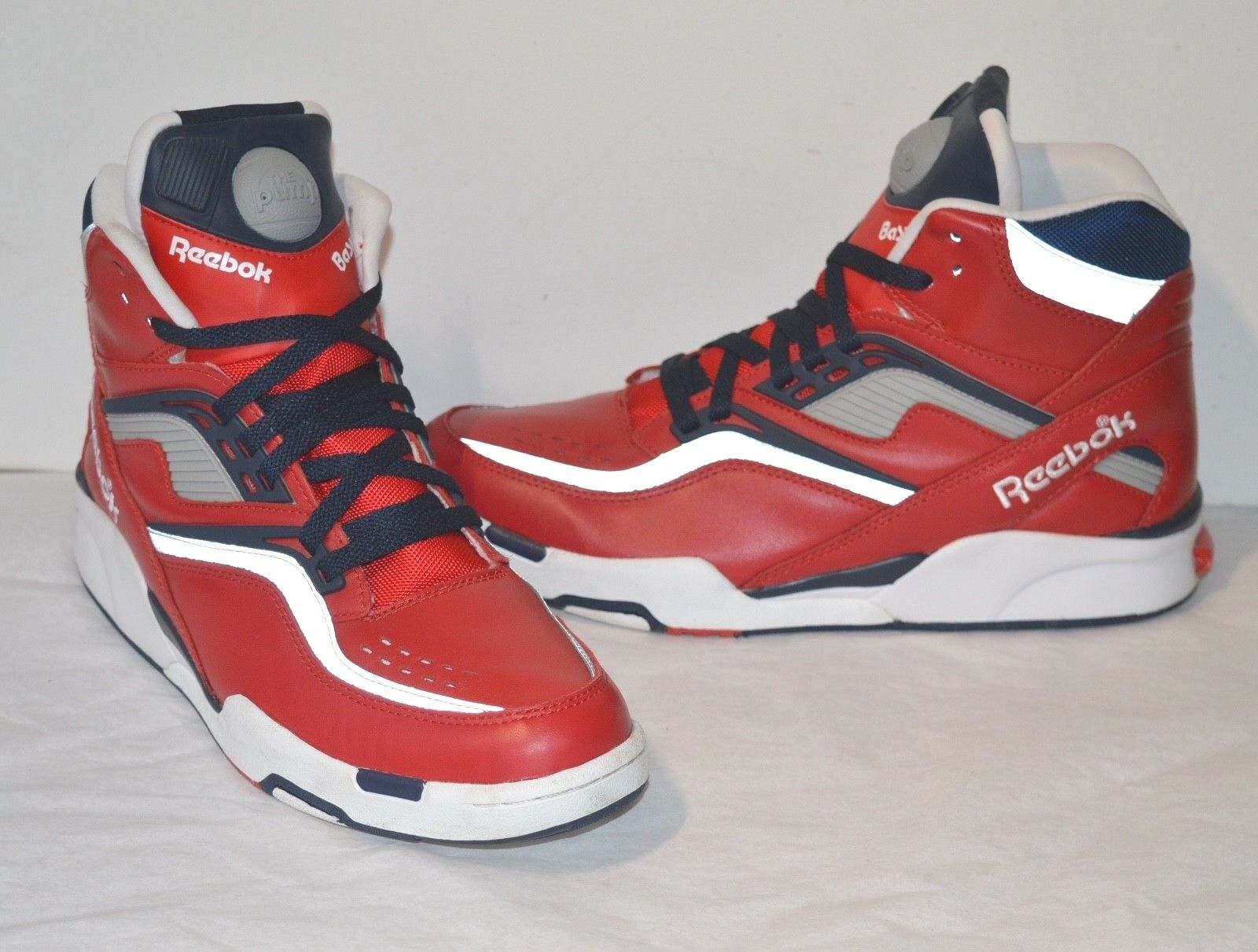 16150c494cf9 New Reebok Twilight Zone Pump OLYMPIC OLYMPIC OLYMPIC Red Navy White Silver  Reflective sz 11 7e31a8 ...