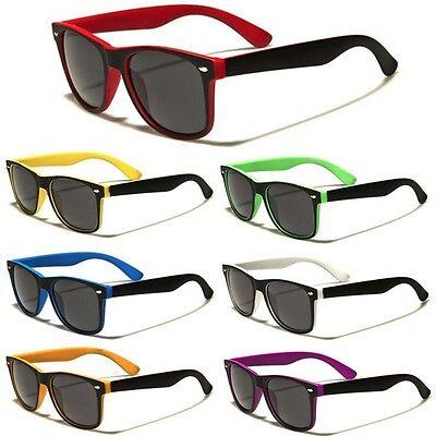 Classic Retro Fashion Sunglasses Men Dark Black Lens