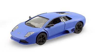 Kinsmart Lamborghini Murcielago LP640 1:36 diecast model car Matte Blue K107
