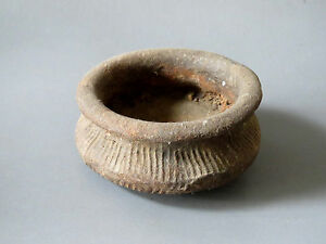 Original Ancient pottery Bowl From Thailand Cheap LOOK!