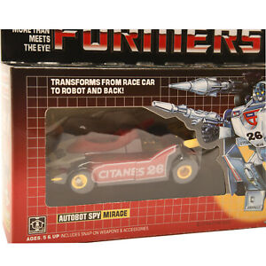 Transformers G1 Mirage Action Figure REISSUE//K.O BRAND IN BOX