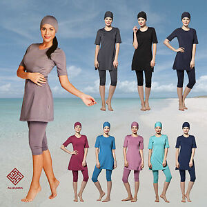 AlHamra-Capri-Modest-Burkini-Swimwear-Swimsuit-Burqini-Muslim-Islamic-Sportwear