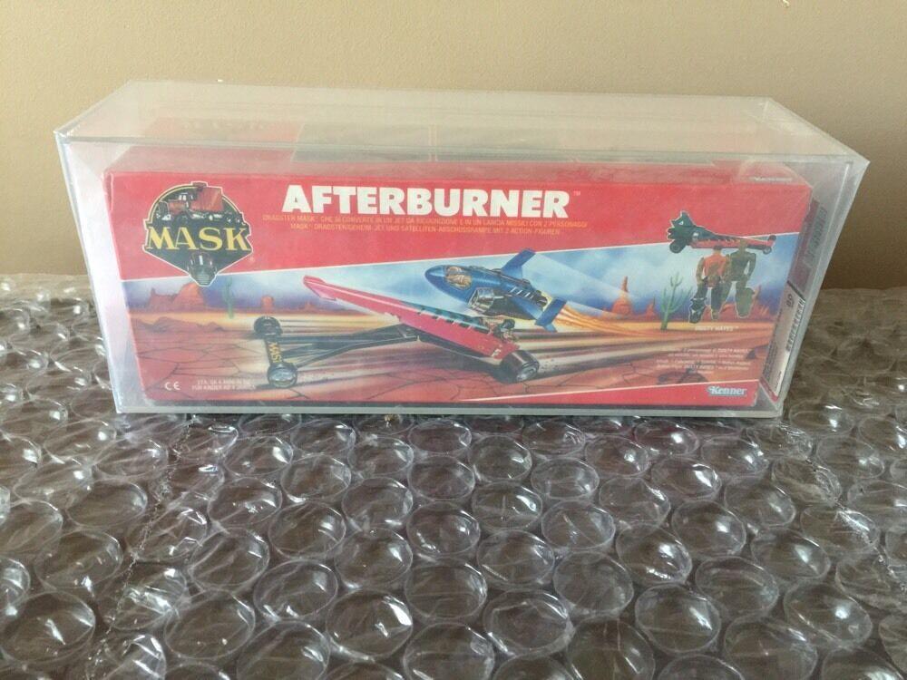 Kenner  M.A.S.K. MASK Split Second Afterburner Factory Sealed AFA 80 Euro Box