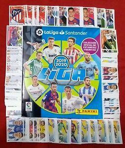 ORIGINAL-PANINI-La-Liga-Santander-2019-2020-Album-Complete-Set-Stickers