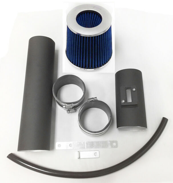 Black Air Intake System Kit/&Filter For 2006-2009 Chevy Trailblazer 4.2L L6