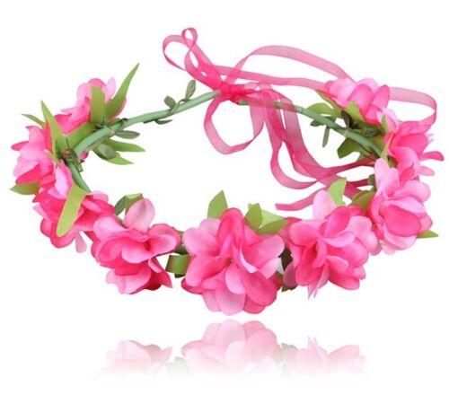 20 BLESSING Women Girl Fashion Garlan Flower Wreath Crown Headband Hairband