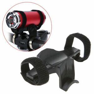 Bike-Bicycle-Light-Torch-Flashlight-Cycling-Handlebar-Clips-Bracket-Mount-Holder