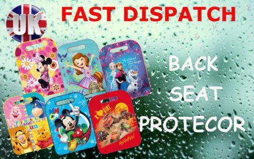 DISNEY Child Kids Waterproof  Back Seat Car Protector Cover