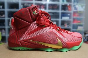 hot sale online 517a5 c3898 Details about Nike iD Lebron XII 12 Sprite Mix Pack PE Men's Shoe Size 12 (  728709 - 999 )