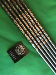 Pulled CATALYST 65 5.5 5-PW (6 Shafts) 65g Regular Flex Graphite Iron Shafts