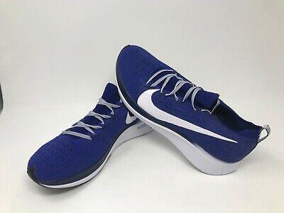 Men's Nike Zoom Fly Flyknit (deep royalwhiteblue void) AR4561 400 | eBay