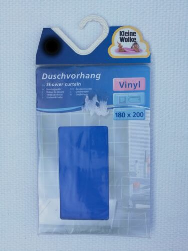 verschiedene Größen blau Kleine Wolke Duschvorhang Phönix 100/% Vinyl