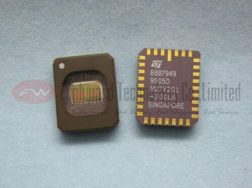 STMicroelectronics M27V201-200L6 27V201 2MBIT UV EPROM CLCC32 x 10pcs