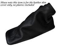 FITS MG MGF TF TF HANDBRAKE GAITER GATOR GAITOR LEATHER BLACK STITCH