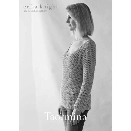 Erika Knight-Mesdames STUDIO LIN Taormina Knitting Pattern