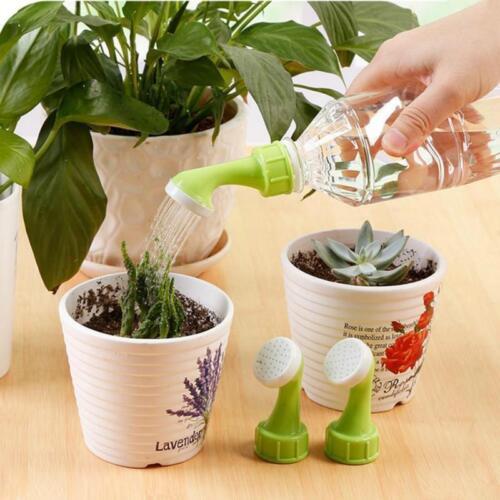 Garden Watering Can Plastic Sprinkler Garden Plant Spray Spout Mist Nozzle SO