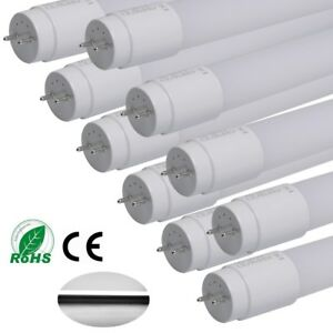 10-6-2x-18W-T8-LED-Nano-Tube-Light-Lamp-Replacement-Fluorescent-4FT-120CM-2000LM