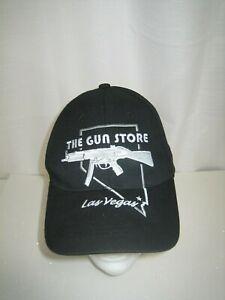 the-gun-store-las-vegas-baseball-hat-cap-adult-one-size-black-silver