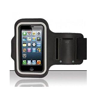 Pour-Samsung-Galaxy-S4-mini-Housse-Brassard-Sport-Jogging-Noir