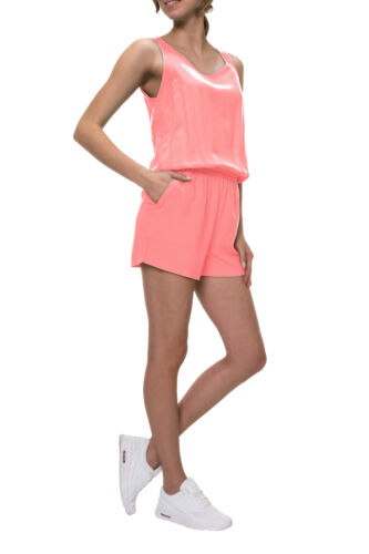 Only Donna Playsuit tuta Onepiece Jumpsuit Casual Spiaggia Pantaloni Shorts Pantaloni Top