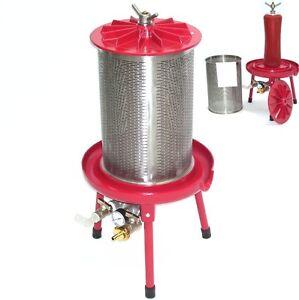 55567-Hydropresse-20L-Saftpresse-Obstpresse-Wasserpresse-Fruchtpresse-20-Liter