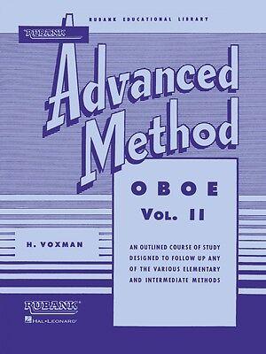 Painstaking Rubank Advanced Method Oboe Vol 2 Advanced Band Method New 004470420 Wind & Woodwinds
