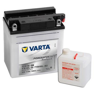VARTA YB10L-B2 Rollerbatterie 12V 11Ah 511013009 11Ah JIS 12N10-3B NEU OVP