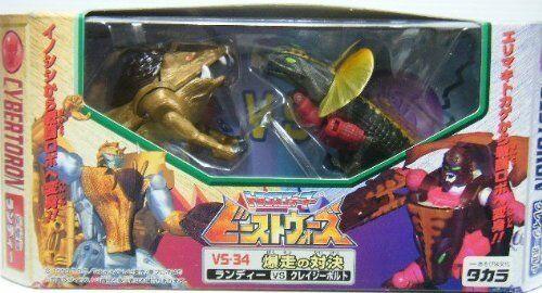 New Takara Transformers Beast Wars Action Figure VS-34 Randy Vs Crazybolt