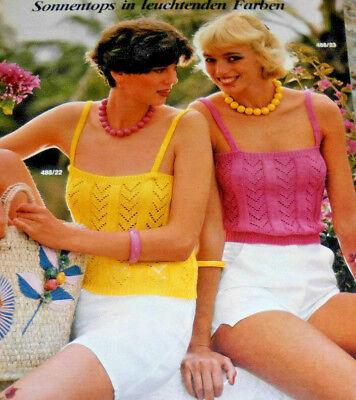Burda von 1984  Maschen-Chic für sie und ihn Stricken Strickheft Handarbeitsheft