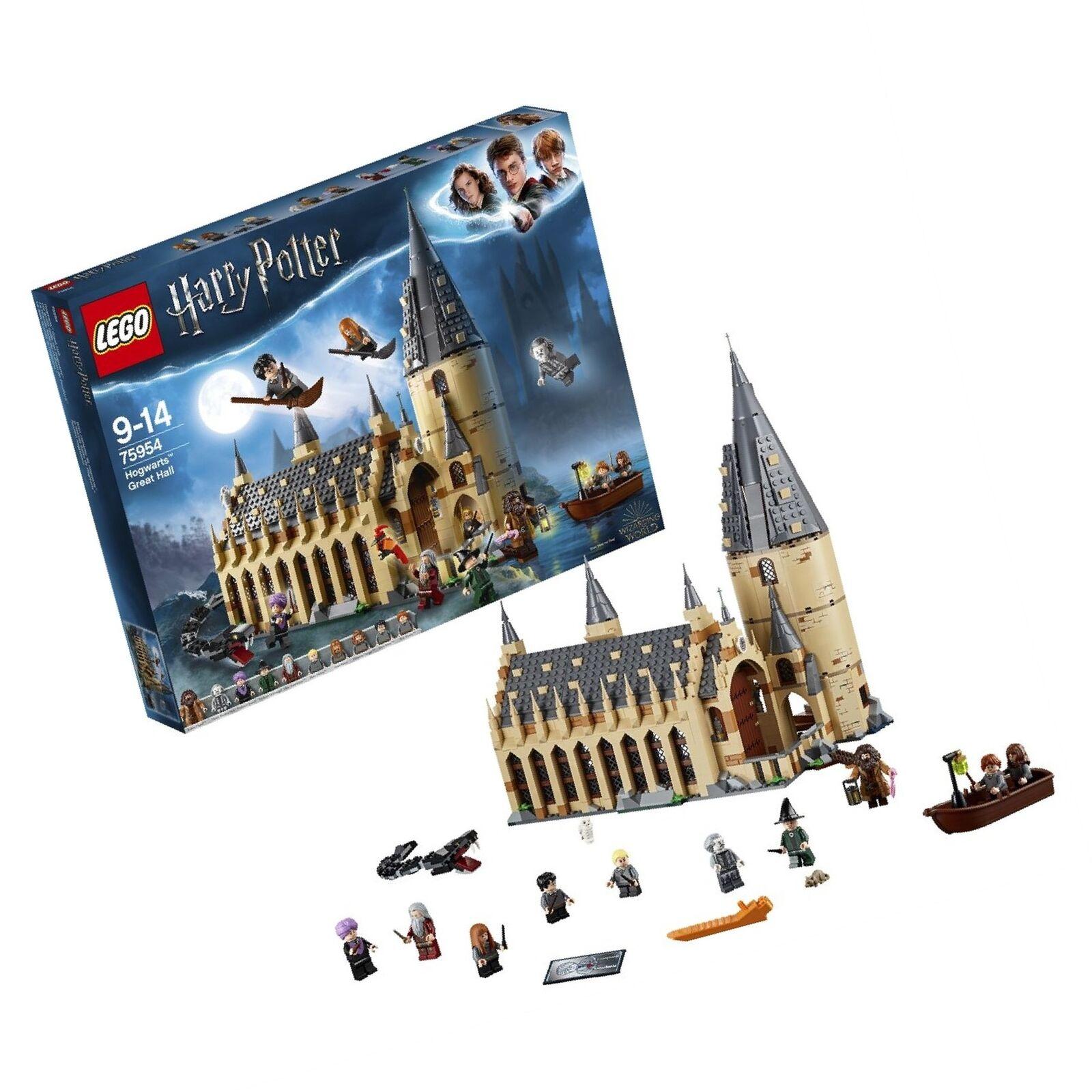 LEGO 75954 Harry Potter Hogwarts Great Hall Building Set