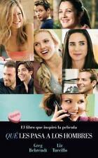 Que les pasa a los hombres (Spanish Edition) (Bolsillo Zeta Edicion-ExLibrary