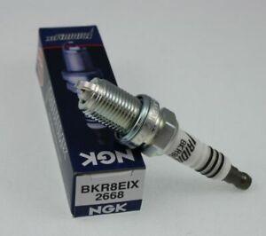 4 New NGK Iridium IX Spark plug BKR8EIX # 2668 by NGK