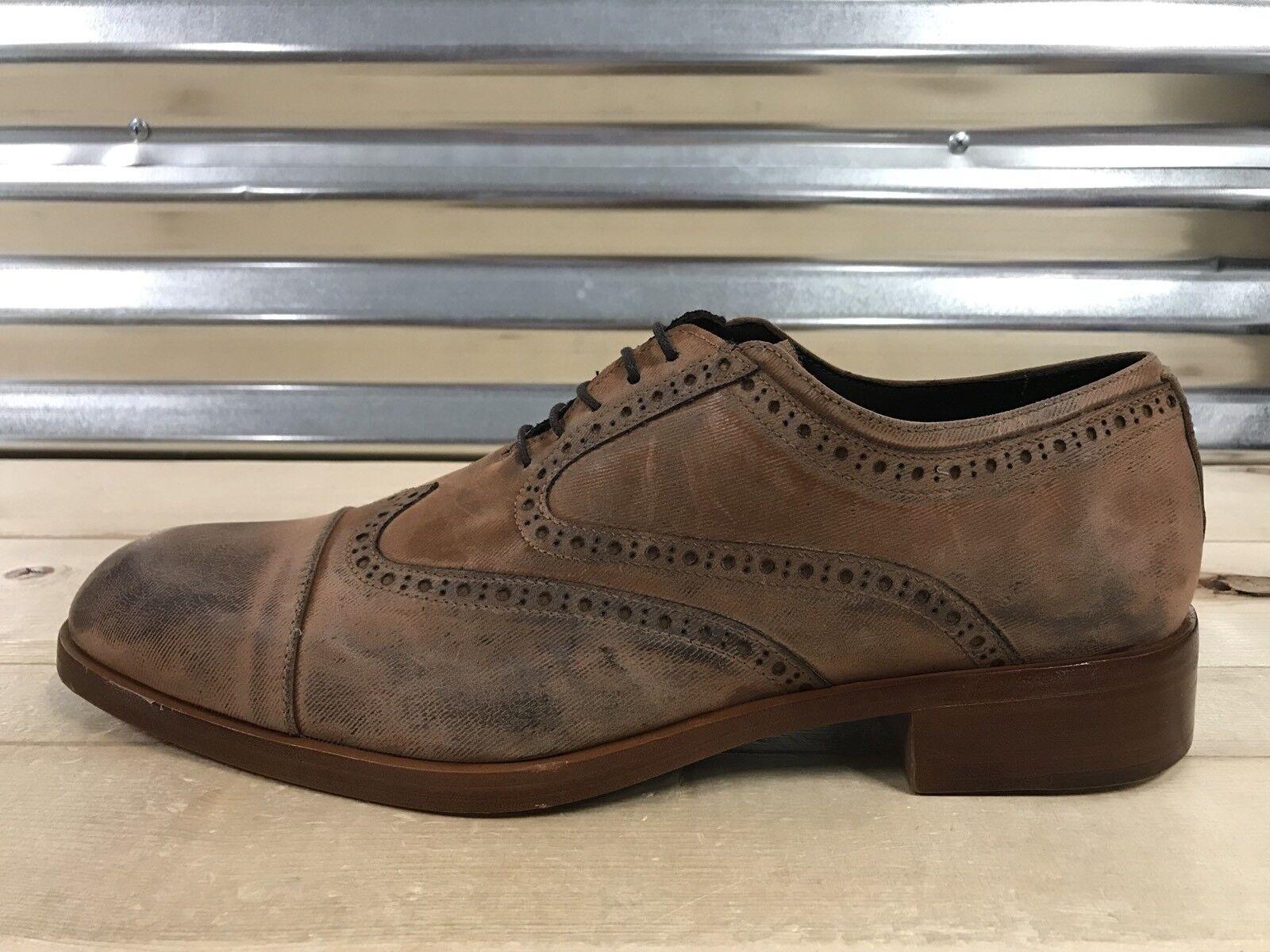 Venta de liquidación de temporada Donald Pliner Zindel Oxford Zapatos Vestido óxido Avejentado terciopelo marrón