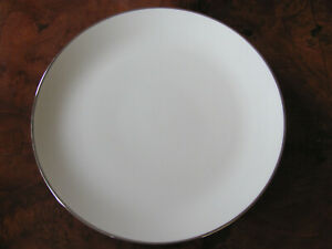 Franciscan-China-Platinum-Band-Encanto-Ivory-Dinner-Plate-s-Up-to-7-Avail